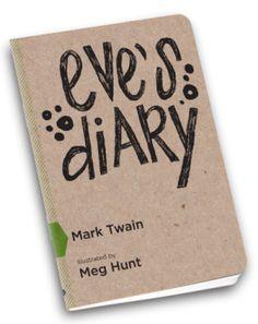 eve's diary. book design