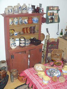 Tasha Tudor's Dollhouse hutch