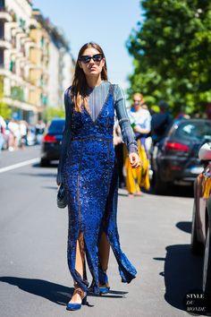 Patricia Manfield Street Style Street Fashion Streetsnaps by STYLEDUMONDE…