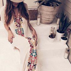 Palm Springs Kaftan Dress: Alternate View #1