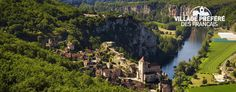 A village listed as one of the most beautiful in France and a  historic monument, this mediaeval jewel invites you to explore its streets and hidden treasures.  Saint-cirq-lapopie, France