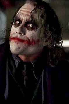 Heath Ledger's Joker - The Dark Knight Heath Legder, Joker Heath, Joker Images, Joker Pics, Joker Queen, Joker Dark Knight, Joker Drawings, Jokers Wild, Heath Ledger Joker