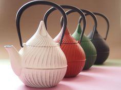 南部鉄器『蕾Tubomi』 Teapot -  Love the conical lid