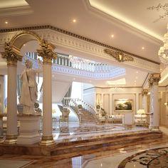 Dream House Interior, Luxury Homes Dream Houses, Luxury Homes Interior, Dream Home Design, Modern House Design, Modern Mansion Interior, Home Interior Design, Dream Mansion, Dream Rooms