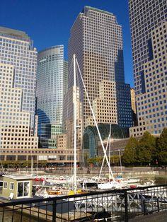 Battery Park City marina