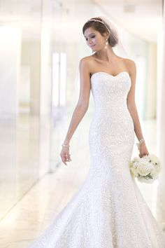 Gown by Essense of Australia #wedding #dress