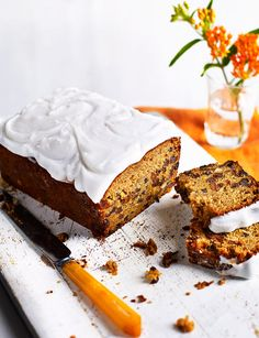 Spiced squash and fruit loaf   Sybil Kapoor's recipe is a great twist on a classic loaf cake. The innovative flavours work together perfectly and combine to make a delicious and comforting cake that can be eaten at any time of day!