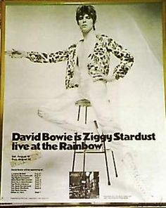 David Bowie is Ziggy Stardust live at the Rainbow
