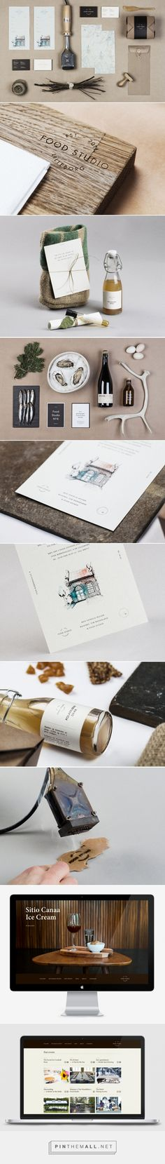New Brand Identity for Food Studio by Bielke&Yang - BP&O - created via http://pinthemall.net