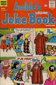 VG Grade Bronze Age Cartoon Character Comics Not Signed Archie Comics Characters, Archie Comic Books, Old Comic Books, Archie Comics Riverdale, Old Comics, Vintage Comics, Book Cover Art, Comic Book Covers, Archie Jughead