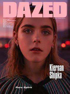 Kiernan Shipka for Dazed Magazine Spring 2016 - PPT design inspiration