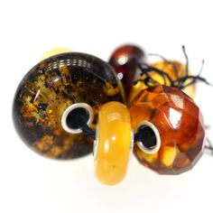 Trollbeads Gallery - Amber Unique Bead Kit 310, $235.00 (http://www.trollbeadsgallery.com/amber-unique-bead-kit-310/)