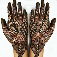 42 New Arabic Mehndi Designs for Every Occasion Henna Art Designs, Stylish Mehndi Designs, Wedding Mehndi Designs, Mehndi Design Pictures, Best Mehndi Designs, Beautiful Mehndi Design, Arabic Mehndi Designs, Mehndi Designs For Hands, Mehndi Images
