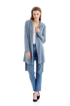 Women s Kate Hooded Belt Tie Cashmere Cardigan   Naked Cashmere Cashmere  Cardigan 02115f95eb