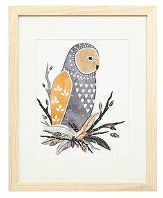 Little Owl Manu by Marisa Redondo