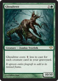 Ghoultree-x4-Magic-the-Gathering-4x-Dark-Ascension-mtg-card-lot-rare
