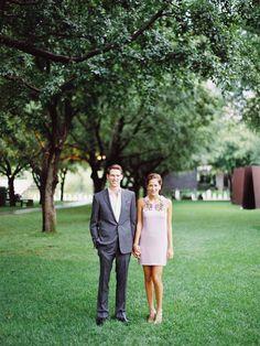 Short Purple Gucci Wedding Dress - Easton Events