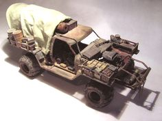 MadMaxModels.com: Laurent's Mad Max Truck