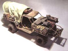 MadMaxModels.com: Laurent's Mad Max Truck
