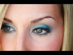 Makeup How-to: Teal/Blue Look for Spring/Summer