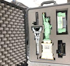 Auch Lego braucht hin und wieder speziellen Schutz. Eine Software Firma verwendet unsere Produkt um ihre Lego Funktionsmodelle Beim Transport zu schützen #lego #peli1560 #infotectures Software, Model