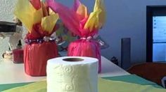 An amazingly cheap, creative, and quick way to make centerpieces for your table decor - DIY!