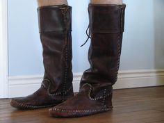Apache Boot Moccasins in Leather, Hides & Tanning Forum