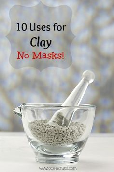 The high mineral content in cosmetic clay makes it a great healing agent to be used in a variety of ways.