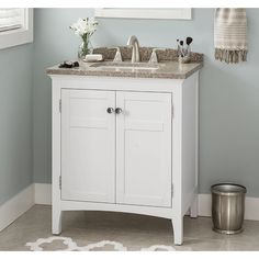 Inspiration Web Design Shop allen roth Brisette Cream Undermount Bathroom Vanity with Cultured Marble Top Common