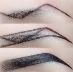 Accessoires Z-Typ Augenbrauen Make-up-Technik Makeup Makeup Techniques eyebrows Eyebrow Makeup Tips, Makeup 101, Skin Makeup, Makeup Brushes, Makeup Eyebrows, Makeup Ideas, Eye Brows, Makeup Inspo, Drawing Eyebrows