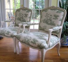 French Furniture - French Fabrics!  Good links on this for fabric!!