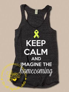 LOVEANDWARCLOTHING - Keep calm and imagine the homecoming tank top, $26.95 (http://www.loveandwarclothing.com/keep-calm-and-imagine-the-homecoming-tank-top/)