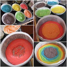 Rainbow Dolly Varden Cake, here I come!