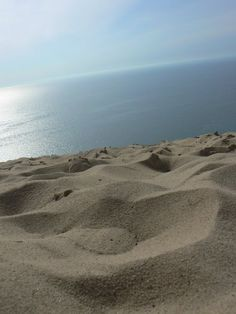 Sleeping Bear Dunes , Lake Michigan