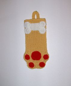 Adorable Blonde Christmas Stocking or Dog by MissyOodlesCreations, $12.00