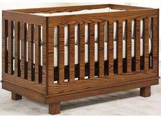 Contempo style crib..