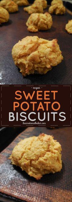 sweet potato drop biscuits easy vegan sweet potato biscuit recipe ...