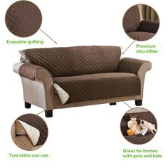 Sofa Protector - Keeps Your Couch Clean! Outdoor Sofa, Outdoor Furniture, Furniture Ideas, Clean Couch, Sofa Protector, Velvet Couch, Living Room Seating, Settee, Sofa Covers