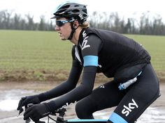 Paris- Nice...As was Ian Boswell whose chin took the brunt of the impact in Tuesday's spill
