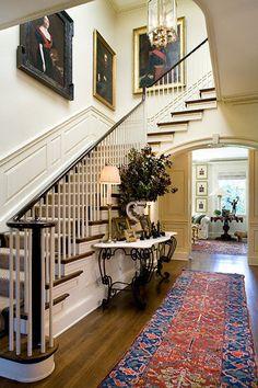Entry Halls, Interior Design, Hall Decor, Exclusive Design For More… Design Hall, Hall Interior Design, Interior Photo, Modern Interior, Design Design, Design Trends, Foyer Decorating, Decorating Ideas, Decor Ideas