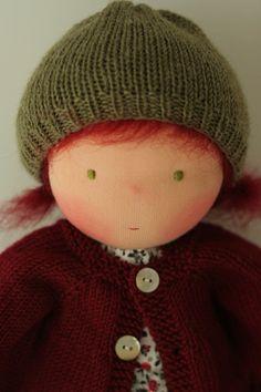 Waldorf doll Astrid 16 by Peperuda dolls by danielapetrova on Etsy, $200.00