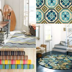 Indoor Outdoor Rugs - Threads by Garnet Hill