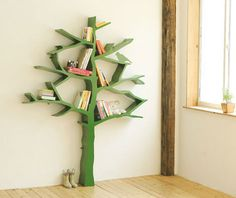 tree bookcase. cute for a classroom