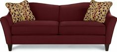 Call dibs on the Demi sofa before your food coma hits.