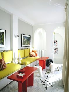 Tangiers home of Bruno Frissoni and Herve Van Der Straeten