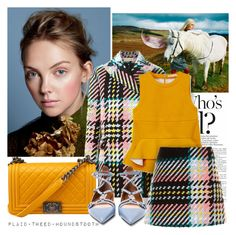 """""""FALL TWEED"""" by tiziana-melera ❤ liked on Polyvore featuring Marni and Valentino"""