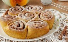 Тыквенные булочки с корицей | Кулинарные рецепты от «Едим дома!»