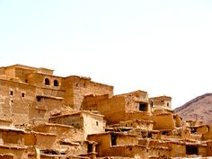 Old berber houses