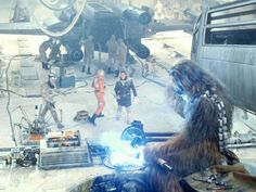 In addition to being an excellent pilot, Chewbacca was also known for his skills in starship repa...