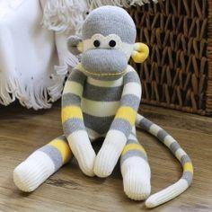 DIY Your Own Sock Monkey